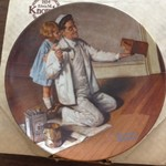 Knowles Norman Rockwell Plates 23 total