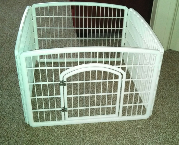 Dog Pet Pen With Detachable Panels