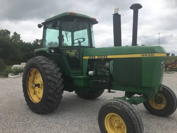 4430 John Deere Tractor with Cab and Air