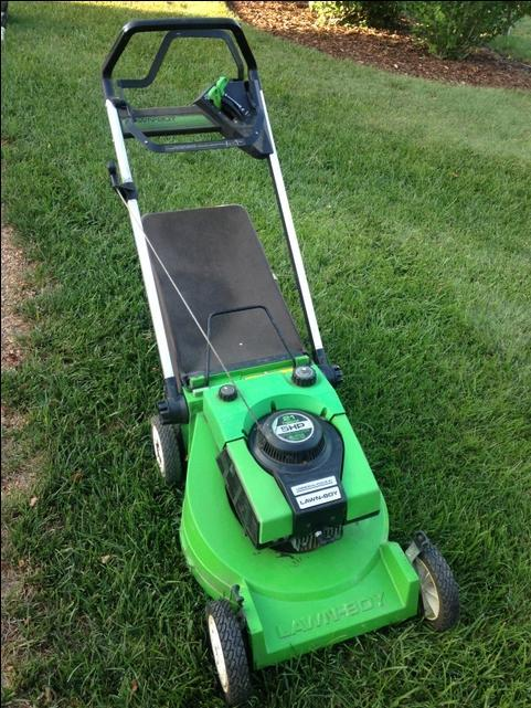 Lawn Boy Commercial Lawn Mower