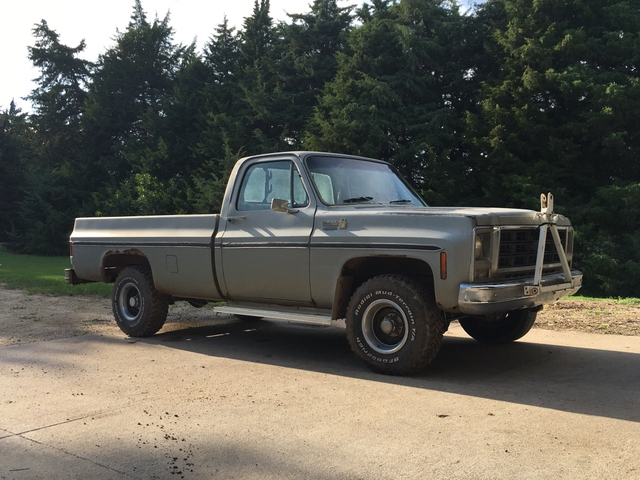 1979 Chevy K10 4x4 Pick Up