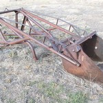 Loader for a Ford Tractor