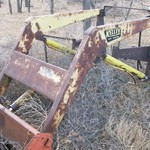 Loader for a IH 300U, 330U, or 350U tractor