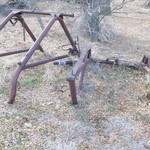 Dearborn Loader frame for a Ford Tractor