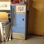 Vintage Pepsi Vendo Machine