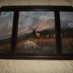 Wood look frame picture   *reduced*