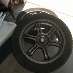 Tire set with rims 17inch