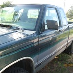4x4 chevy s10 1993 extended cab or trade