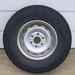 3 245-75R-16 Tires with 6 Hole Wheels