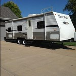 2008 Cherokee Grey Wolf 26bh Travel Trailer