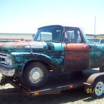 1961 Ford F100 Short Bed Unibody
