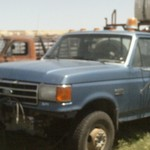 1991 Ford F Super Duty XLT Larairt W/Lawn and Field Sprayer