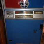 Pepsi pop machine