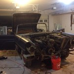 1960 Lincoln continental mark v convertible project