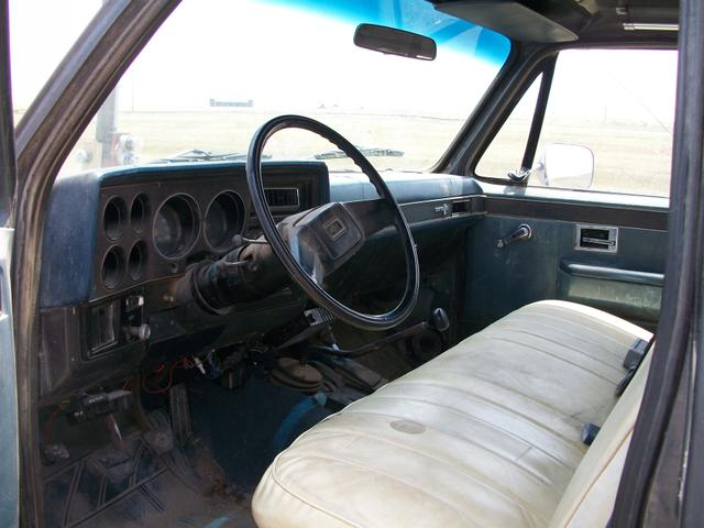 1981 chevy 3 4 ton 4x4 with bessler 3000 series bed nex for Bed tech 3000
