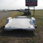 Used Featherlite car trailer