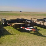 Hillsboro heavy duty tilt bed trailer
