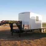 Oil Field Dog house trailers