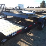 2015 Rice 20ft split tilt trailer