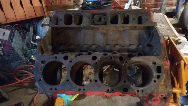 427 big block chevy heads and 454 block