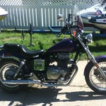 Honda rebel 450 NEED GONE!!