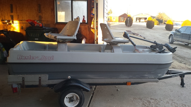 2 man fishing boat trailer nex tech classifieds for Two man fishing boat