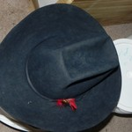 Bailey 5x beaver cowboy hat about size 7