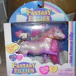 Star Prancer Filly Light up collectible horse with long mane