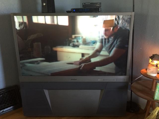 55quot Mitsubishi Rear Projection TV
