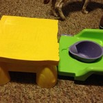 Winnie the Pooh potty cair
