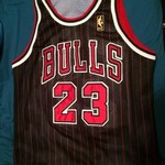 Authentic 50th Anniversary Michael Jordan jersey