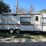 MALLARD TRAVEL TRAILER JUST IN TIME FOR HUNTING SEASON