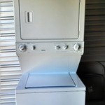 "Kenmore 27"" Stacked Washer/Dryer"