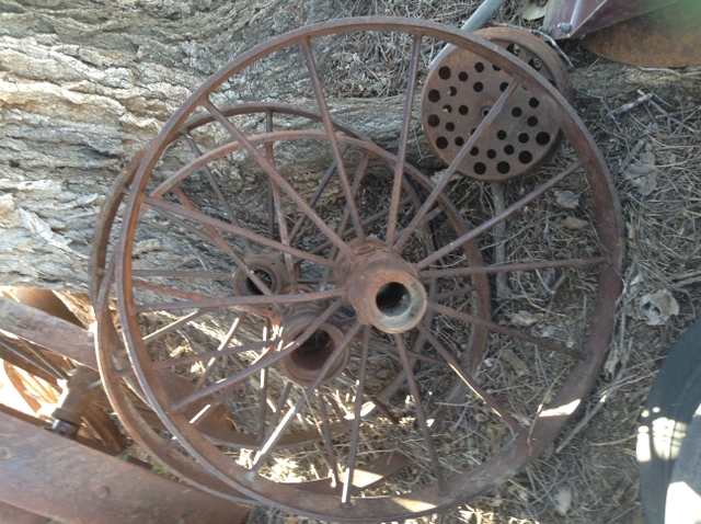 Iron TractorHorse drawn Implement Wheels
