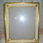 BRASS 8X10 PICTURE FRAME