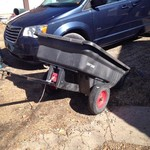 Craftsman mower trailer