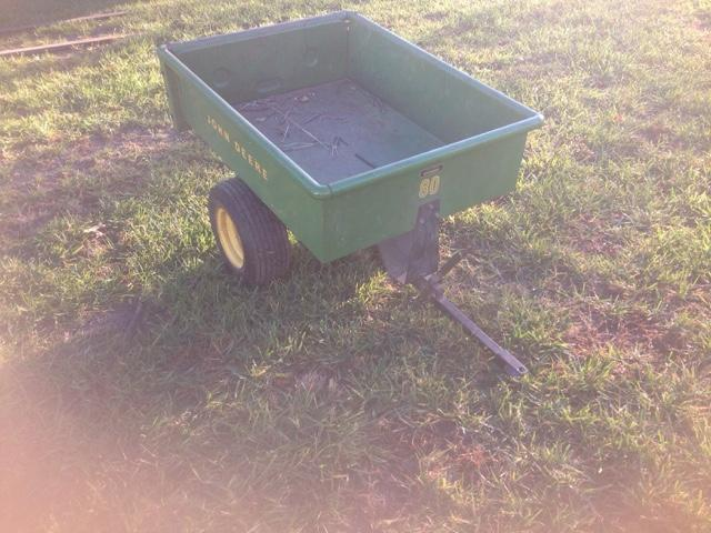 John Deere yard cart