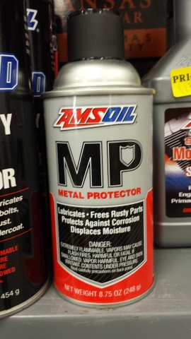 Amsoil Miracle Wash Chain Lube Power Foam Degreaser