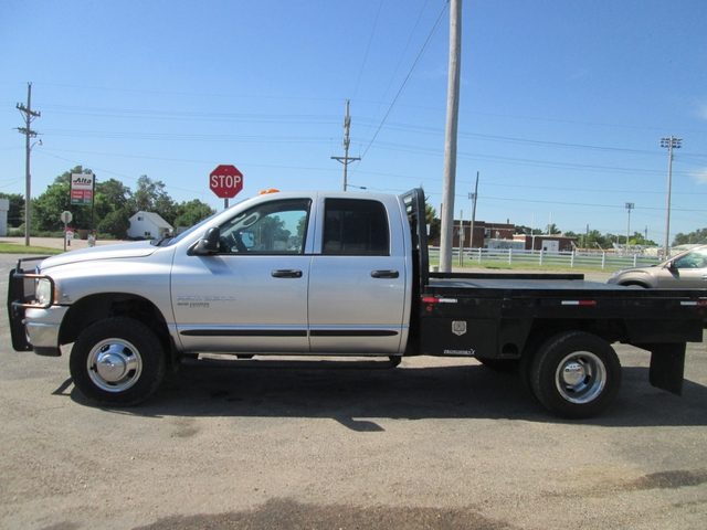 2005 Dodge Ram 3500 4x4 Quad Cab 5.9 Diesel 6 Speed Manuel