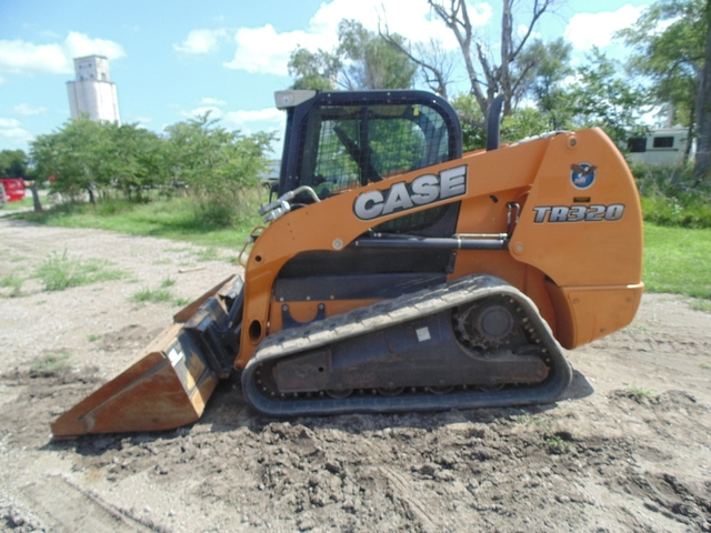2011 Case TR320 Track Skid Steer Loader, CHA, H. Flow