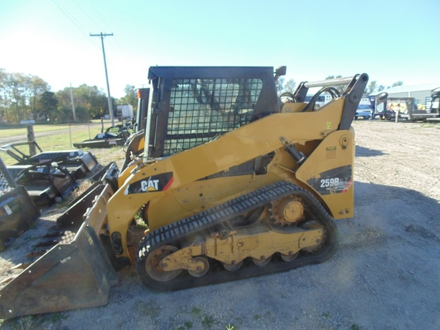 2013 Caterpillar 259B Track Skid Steer Loader, CHA, 2-Spd