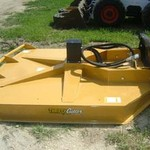 "New 72"" Thrifty Cutter Hydraulic Skid Steer Mower--Std. Flow"