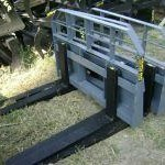 "New 48"" Arrow Skid Steer Loader Pallet Forks, 4500# Rating"