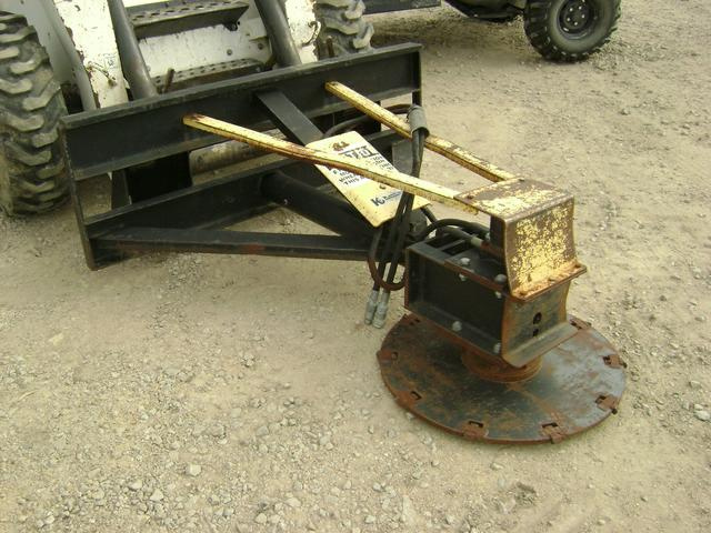 Used tree saw for skid steer