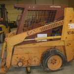 Case 1840 Skid Steer Loader--Parting Out Machine Bad Engine