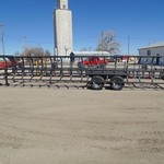 Pride of the Prairie 12 Bale Dully Self-Dumping Bale Trailer
