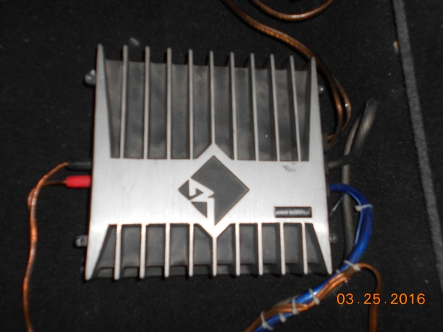 Rockford Punch AMP DB1000A Asking $350.00 OBO