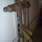 Antique Barn Vise