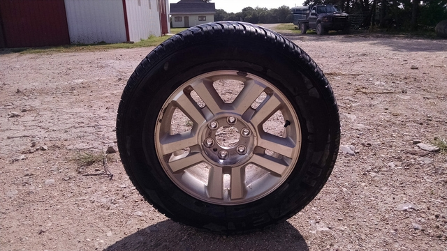 18quot Ford F150 Rims and Tires