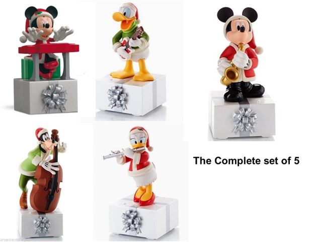 FOR SALE HALLMARK DISNEY WIRELESS ORNAMENTS